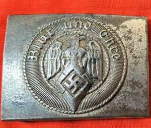 WW2 GERMAN HITLER YOUTH UNIFORM BELT BUCKLE