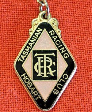 1960's ERA TASMANIAN RACING CLUB HOBART MEMBERS BADGE #127