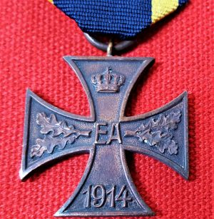 RARE WW1 ERA BRUNSWICK WAR MERIT CROSS GERMANY MEDAL 2ND CLASS