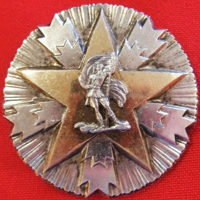 VINTAGE POST WW2 YUGOSLAVIA ORDER OF NATIONAL MERIT MEDAL BADGE 3rd CLASS