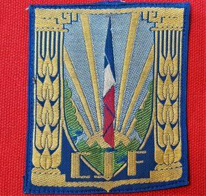WW2 VICHY FRENCH 'CHANTIERS DE LA JEUNESSE FRANCAISE' INSIGNIA UNIFORM PATCH