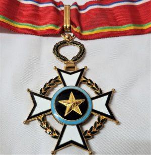 Central African Republic, Order of Merit, Commander's neck Badge, by Arthus Bertrand, Paris