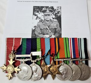 DOUBLE IRAQ & INDIAN FRONTIER WAR WW2 MEDAL GROUP MAJOR GENERAL B P BALIGA INDIAN MEDICAL SERVICE