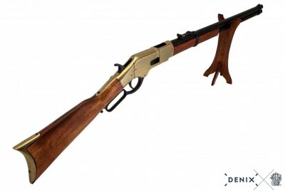 WINCHESTER M1866 YELLOW BOY LEVER ACTION REPLICA RIFLE BY DENIX