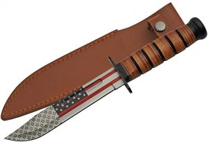 30cm FLAG WWII COMBAT FIGHTER KNIFE SZCO