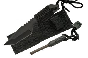 7 inch camping knife set