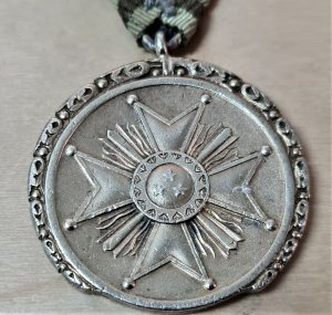 PRE WW2 ISSUE LATVIA ORDER OF THE 3 STARS MEDAL 2ND CLASS AWARD