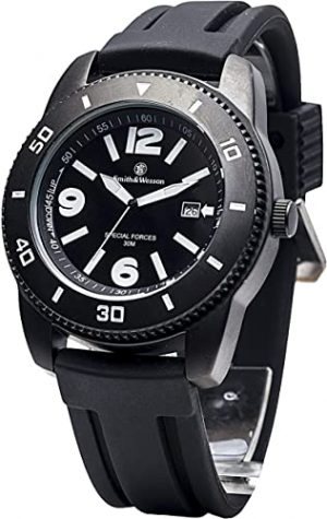 Smith & Wesson Paratrooper Watch with Rubber Band