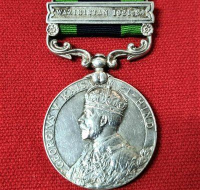 *1/9 GURKHA RIFLES* INDIA GENERAL SERVICE MEDAL 959 THAPA WAZIRISTAN 1921 +WW1