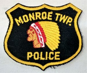 POST WW2 ERA OBSOLETE US MONROE TOWNSHIP STATE POLICE FORCE UNIFORM PATCH