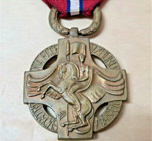 WW1 CZECHOSLOVAKIA COMMEMORATIVE MEDAL OF LIBERATION ARMY