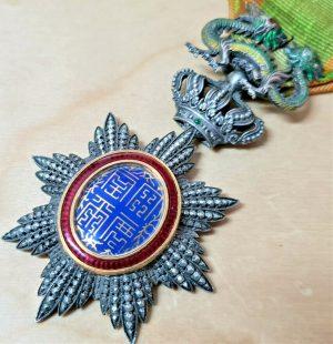 WW1 ERA VIETNAM IMPERIAL ORDER OF THE DRAGON OF ANNAM KNIGHT GRADE MEDAL RARE