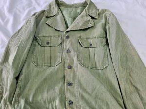 WW2 US ARMY 1ST PATTERN HERRING BONE TWILL HBT UNIFORM JACKET