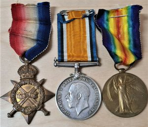 ZEEBRUGGE RAID WW1 1914 – 15 STAR MEDAL GROUP ARMOURER JONES ROYAL NAVY
