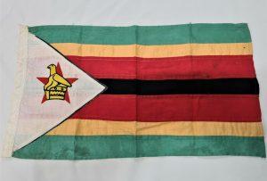 POST WW2 VINTAGE ZIMBABWE NATIONAL FLAG