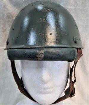 Scarce WW2 Italian Army Model 1942 paratrooper steel helmet