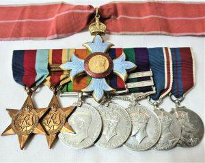 WW2 MEDALS CBE AIR COMMODORE HENRY GORDON BLAIR 31 SQN CHIEF SIGNALS OFFICER RAF